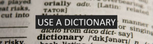use a dictionary